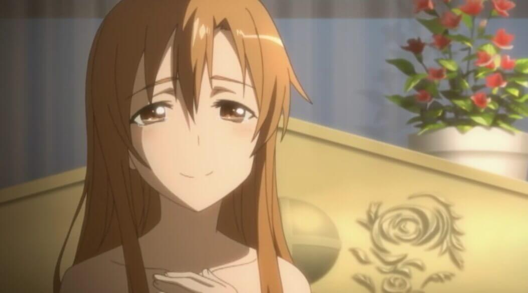 プロポーズされたアスナ
