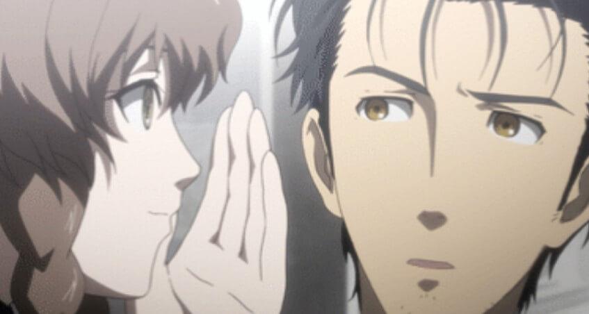 鈴羽と岡部