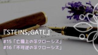 『シュタインズ・ゲート』15、16